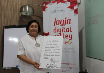 Mensupport Perkembangan Ekonomi Digital (Start Up) Jogja, WANTIMPRES Melakukan Kunjungan ke Jogja Digital Valley