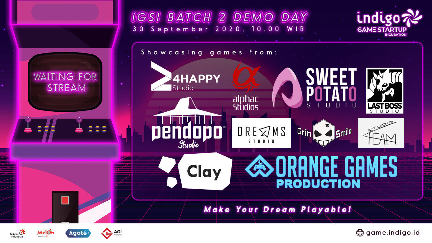 INDIGO GAME STARTUP INCUBATION BATCH 02: Has Reached Their Final Step, The External Demo Day!